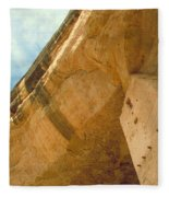 Cliff Palace Tower Fleece Blanket