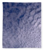 Lots Of Clouds Fleece Blanket