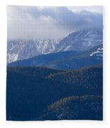 Cloudy Peak Fleece Blanket