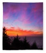Coastal Skies Fleece Blanket