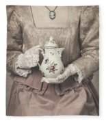 Coffee Time Fleece Blanket