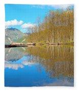 Coldwater Lake Fleece Blanket