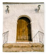 Colonial Door Fleece Blanket