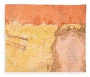Colorful Wall Fleece Blanket