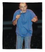 Comedian George Carlin Fleece Blanket