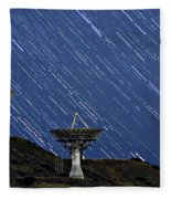 Communications To The Stars Fleece Blanket