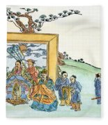 Confucius (c551-479 B Fleece Blanket