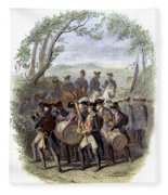 Continental Army Band Fleece Blanket