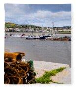 Conway Harbour Fleece Blanket