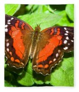Coolie Butterfly Fleece Blanket