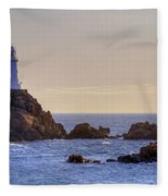 Corbiere Lighthouse - Jersey Fleece Blanket