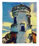 Corbiere Lighthouse Fleece Blanket