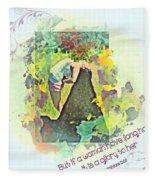 1 Corinthians 11 15 Fleece Blanket