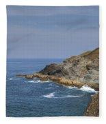 Cornwall - Trevose Head Fleece Blanket