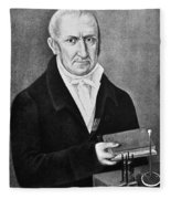 Count Alessandro Volta (1745-1827) Fleece Blanket