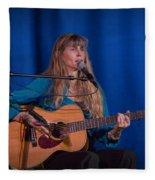 Country Blues Singer Rory Block In Concert Fleece Blanket