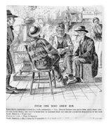 Country Store, 1894 Fleece Blanket