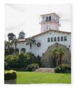 Courthouse Santa Barbara Fleece Blanket