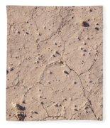 Cracked Ground Fleece Blanket