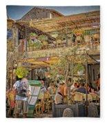 Creperie Restaurant Carcassonne Dsc01697 Fleece Blanket