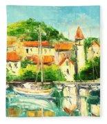Croatia - Split Fleece Blanket