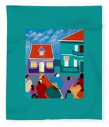 Curacao Dreams II Fleece Blanket