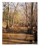 Cypress Waterway Fleece Blanket