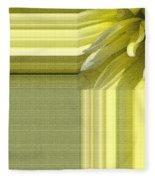 Dahlia Named Canary Fubuki Fleece Blanket