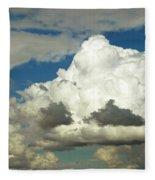 Daunting Sky Fleece Blanket