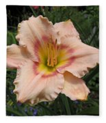 Daylily Fleece Blanket