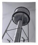 Deer Lodge Montana Water Tower Fleece Blanket