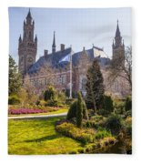 Den Haag Fleece Blanket