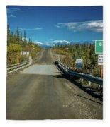 Denali Highway, Route 8, Bridge Crosses Fleece Blanket
