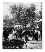 Denver: Healer, 1895 Fleece Blanket