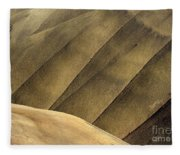 Desert Lines Fleece Blanket