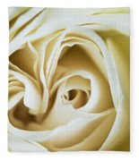 Detail Of Rose Flower Marrakech, Morocco Fleece Blanket