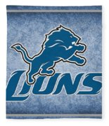 Detroit Lions Fleece Blanket