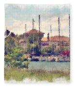 Detroit Yacht Club Fleece Blanket