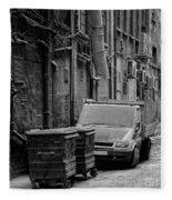 Dirty Back Streets Mono Fleece Blanket