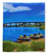 Do You Sea Doo Fleece Blanket