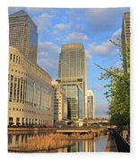 Docklands London Fleece Blanket