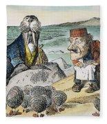 Dodgson: Looking Glass Fleece Blanket