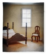 Dollhouse Bedroom Fleece Blanket