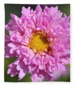 Double Click Cosmos Named Rose Bonbon Fleece Blanket