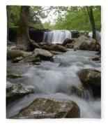 Downstream Fleece Blanket