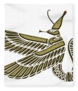 Dragon - Demon Of Ancient Egypt Fleece Blanket