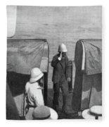 Dreyfus Affair, 1899 Fleece Blanket