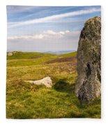 Druids Stone Circle Fleece Blanket