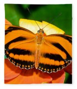 Dryadula Butterfly Fleece Blanket