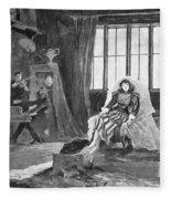 Du Maurier: Trilby, 1895 Fleece Blanket